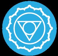 Hals Chakra Icon