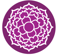 Kronen Chakra Icon